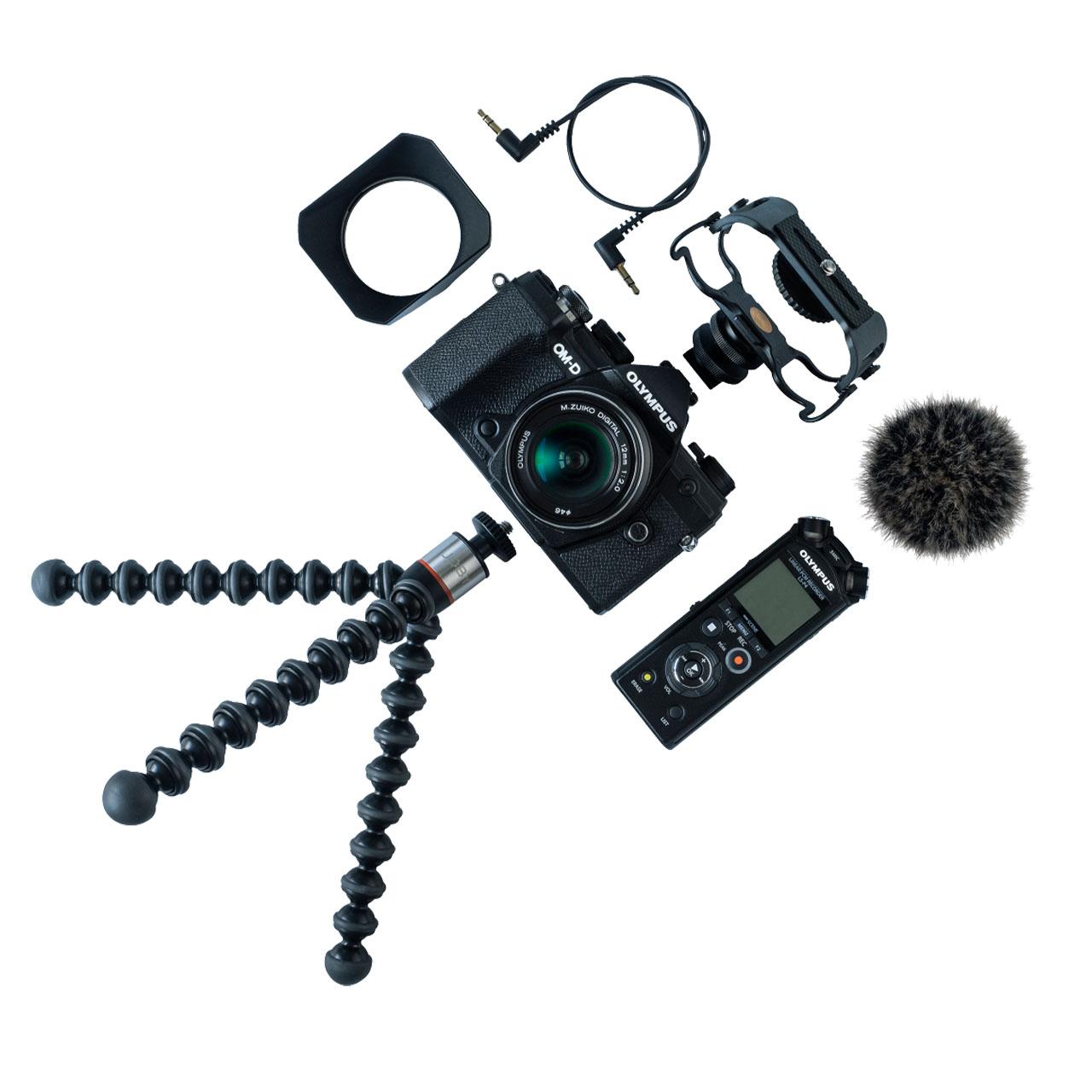 Olympus Cámara Evil OM-D E-M5 Mark III Negro.+12mm F2 Negro