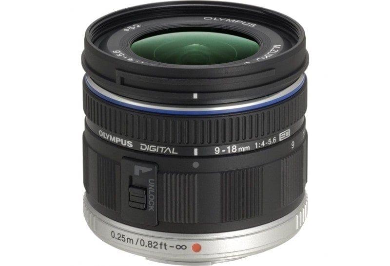 Olympus M.Zuiko Objetivo Digital ED 9-18mm f/4.0-5.6