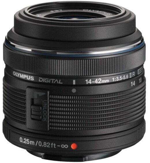 Objetivo - Olympus M.Zuiko Digital 14-42mm II R Negro   V314050BE000