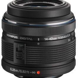 Objetivo Olympus M.Zuiko Digital 14-42mm II R Negro