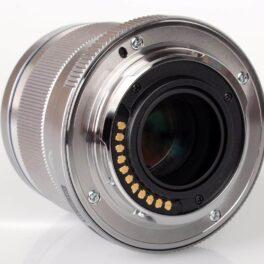 Objetivo Olympus M.Zuiko Digital Angular 12mm f/2.0 Plata (Metálico)