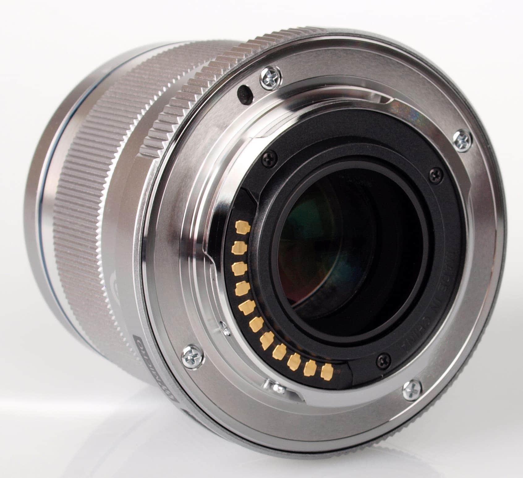 Olympus M.Zuiko Objetivo Digital Angular 12mm f/2.0 Plata (Metálico)