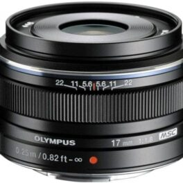 Objetivo Olympus M.Zuiko Digital 17mm f/1.8 Negro (Metálico)