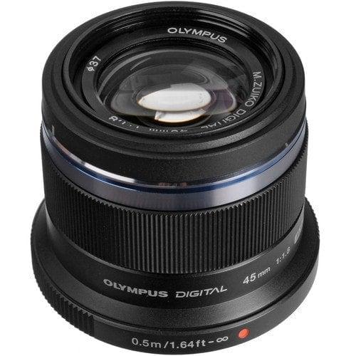 Olympus M.Zuiko Objetivo Digital 45mm f/1.8 Negro
