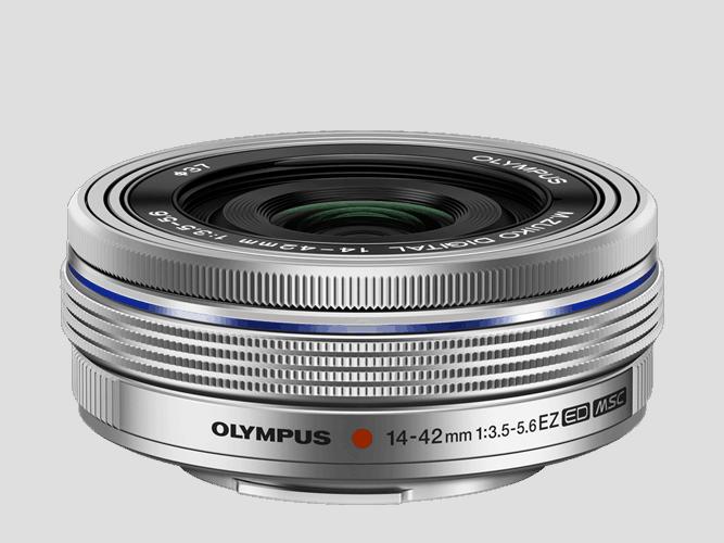 Olympus M.Zuiko Objetivo Digital 14-42mm Ultracomp. zoom motorizado Plata