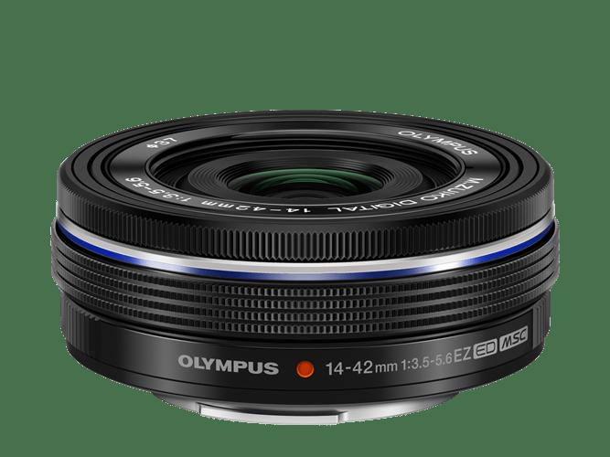 Olympus M.Zuiko Objetivo Digital 14-42mm Ultracomp. zoom motorizado Negro