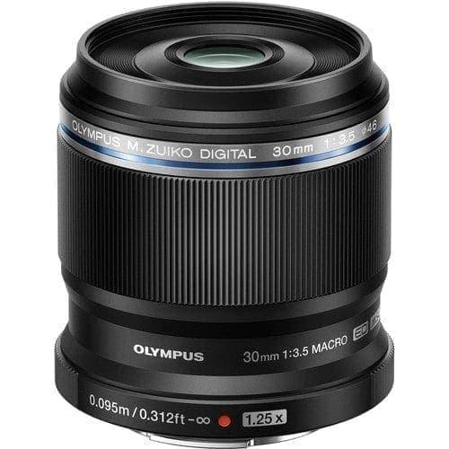Objetivo - Olympus M.Zuiko Digital  30mm 1:3,5 | V312040BW000