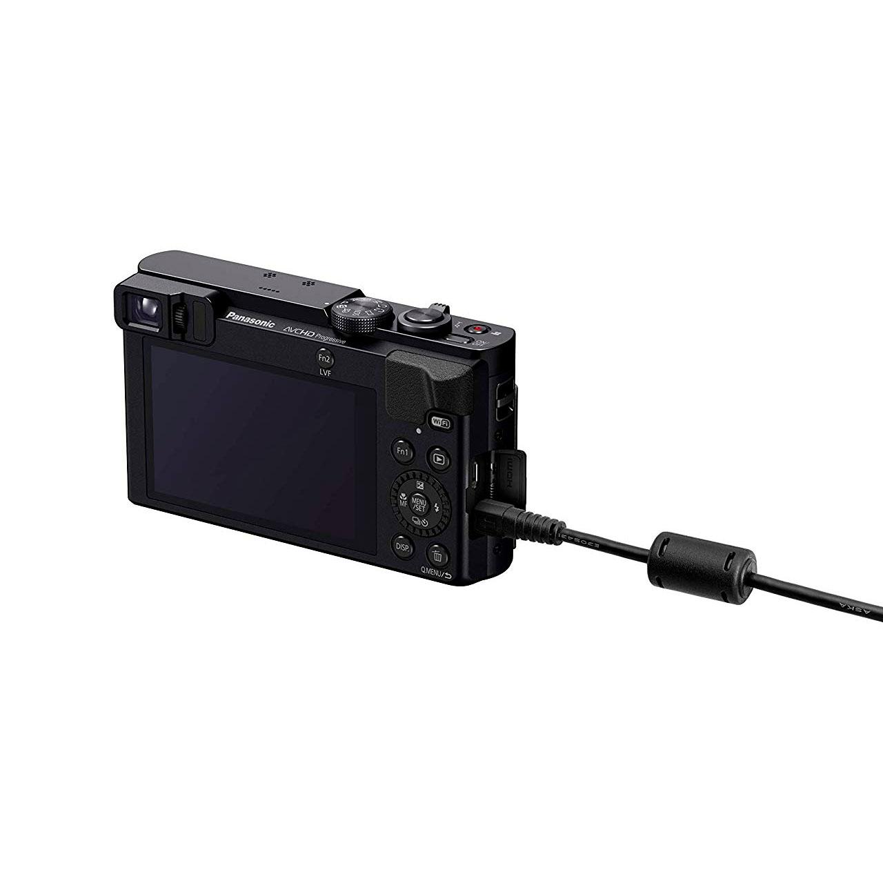 Panasonic Cámara Compacta Lumix TZ70EG-K Negra