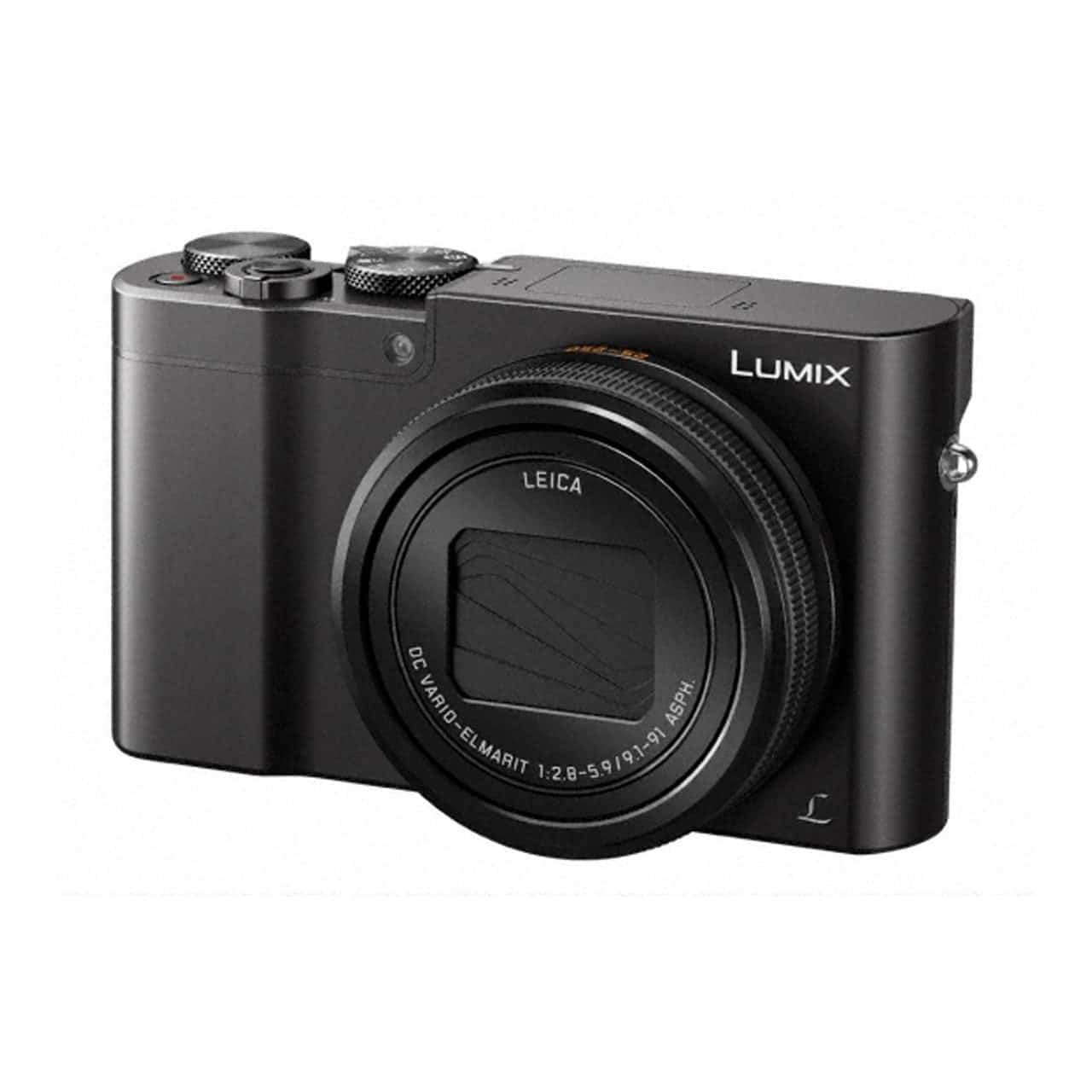 Panasonic Cámara Compacta Lumix TZ100EG-K Negra (sds)