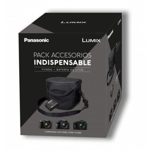 Pack Accesorios - Panasonic Premium para Lumix FZ200/300/1000 | PACK PREMIUM FZ
