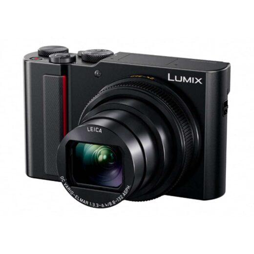 Cámara Compacta Panasonic Lumix TZ200EG-K Negra + Pack Funda y Batería (sds) | DC-TZ200EG-K