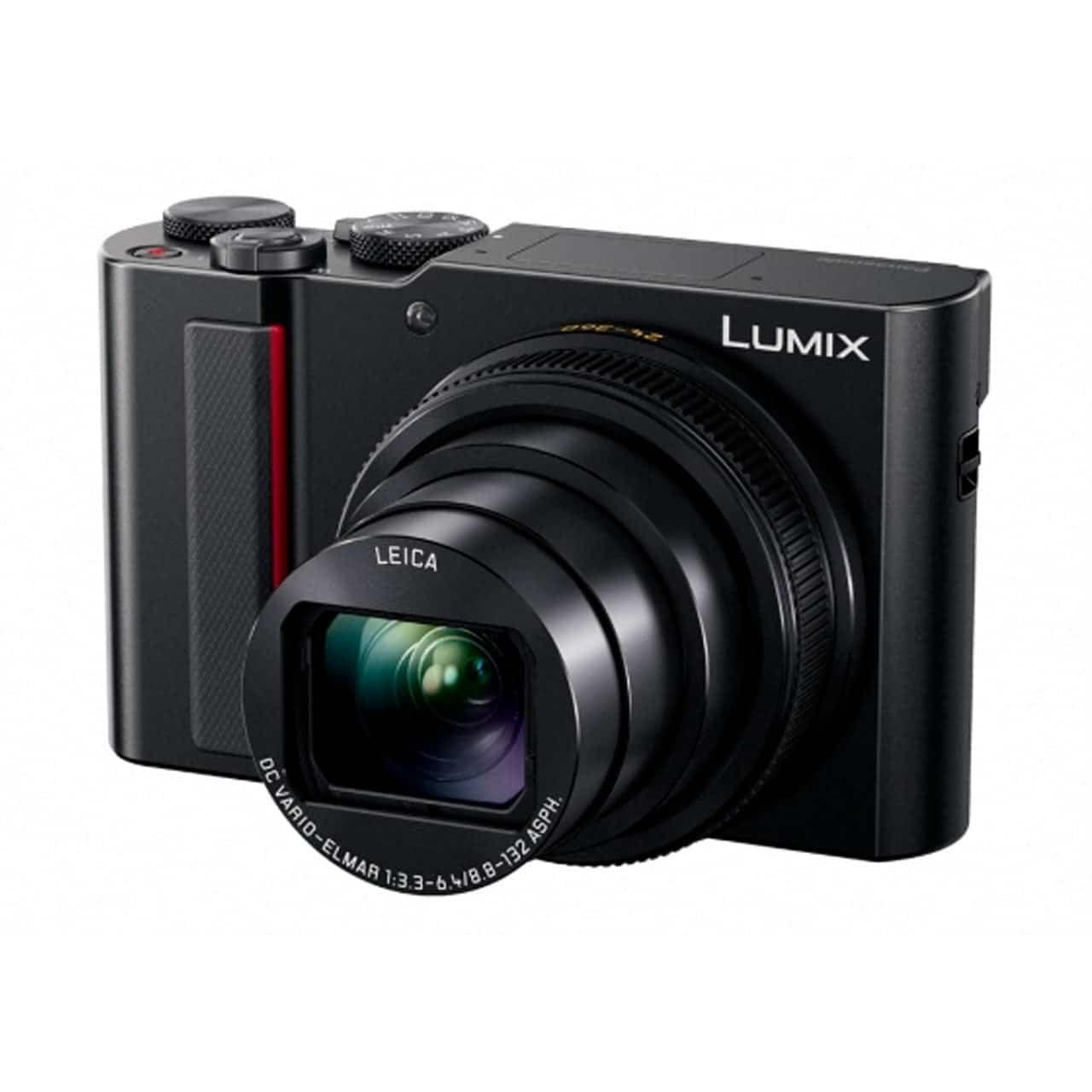 Panasonic Cámara Compacta Lumix TZ200EG-K Negra (sds)