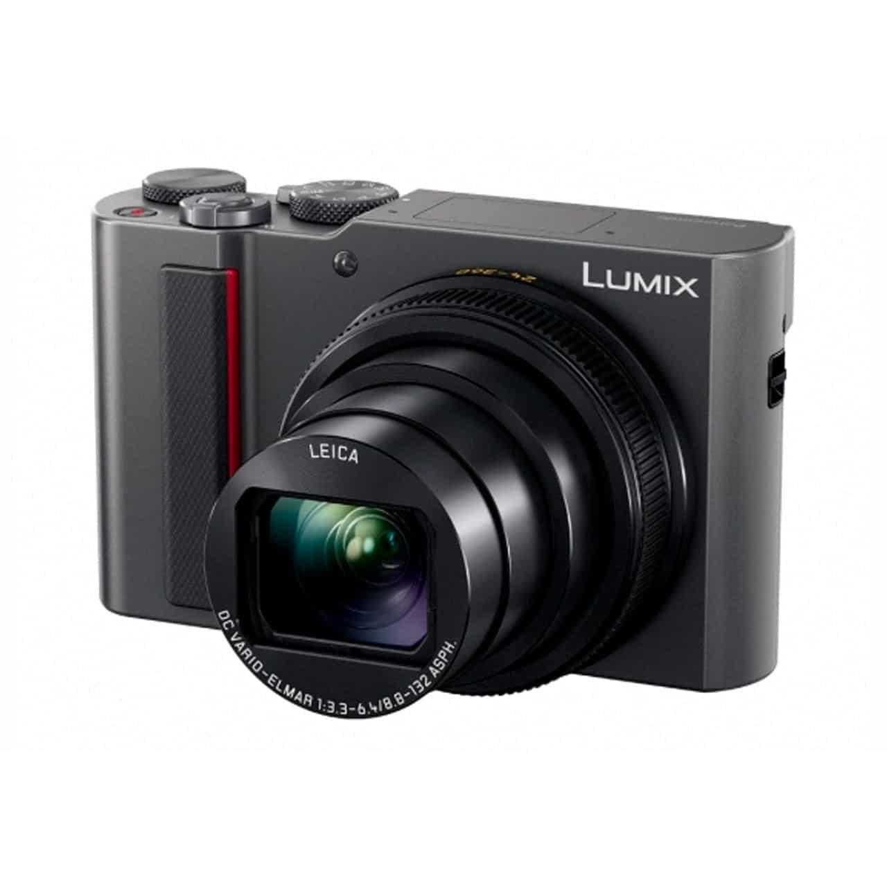Panasonic Cámara Compacta Lumix TZ200EG-S Plata (sds)