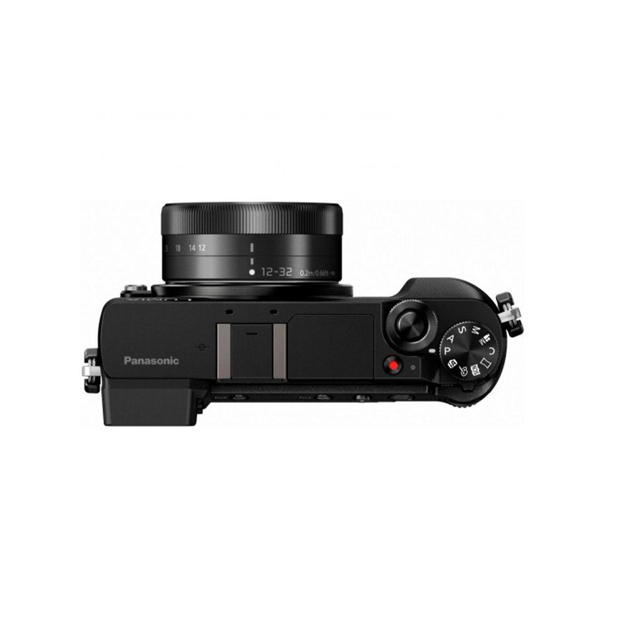 Panasonic Cámara Evil Lumix GX80KECK Negra Objetivo 12-32mm + Pack Lumix