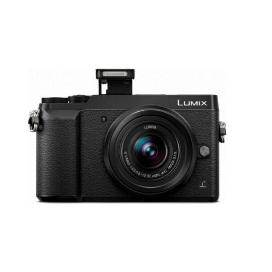 Cámara Evil Panasonic Lumix GX80W Pack Negra Obj.12-32+35-100mm Pack Premium
