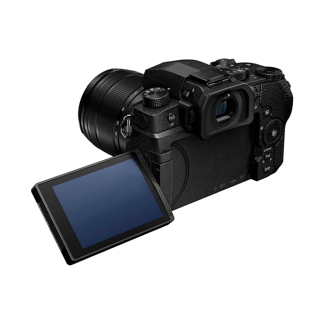 Panasonic Cámara Evil Lumix G90MEC-K Negra Obj. 12-60mm + Trípode SHGR1(sds)