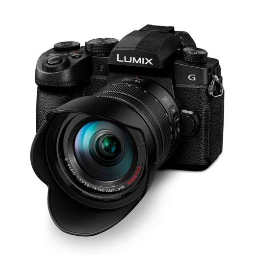 Cámara Evil Panasonic Lumix G90HEC-K Negra Obj. 14-140mm + Bolso SHGR1 (sds) | DC-G90HEC-K