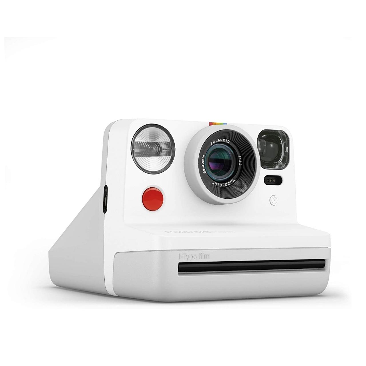 Polaroid Now Cámara Instantánea Blanca + Bipack i-Type