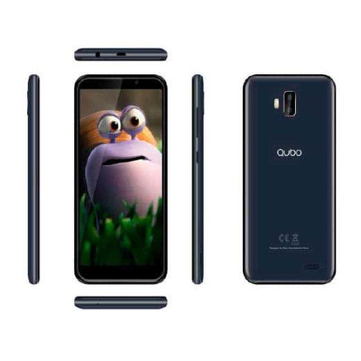 "Smart Phone - Qubo Hermes, Dual Sim, 4G LTE, 5,5""  HD IPS, Blanco | HermesB"