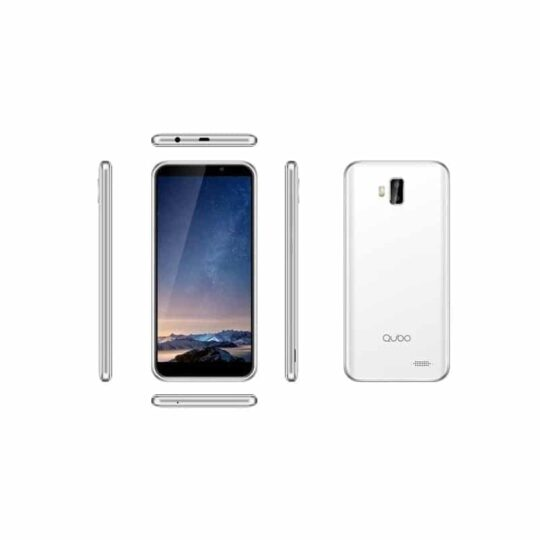 "Smart Phone Qubo Hermes, Dual Sim, 4G LTE, 5,5"" HD IPS, Blanco"