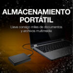 Disco Duro Seagate Expansion Portable 4TB USB 3.0 2,5 pulgadas Negro