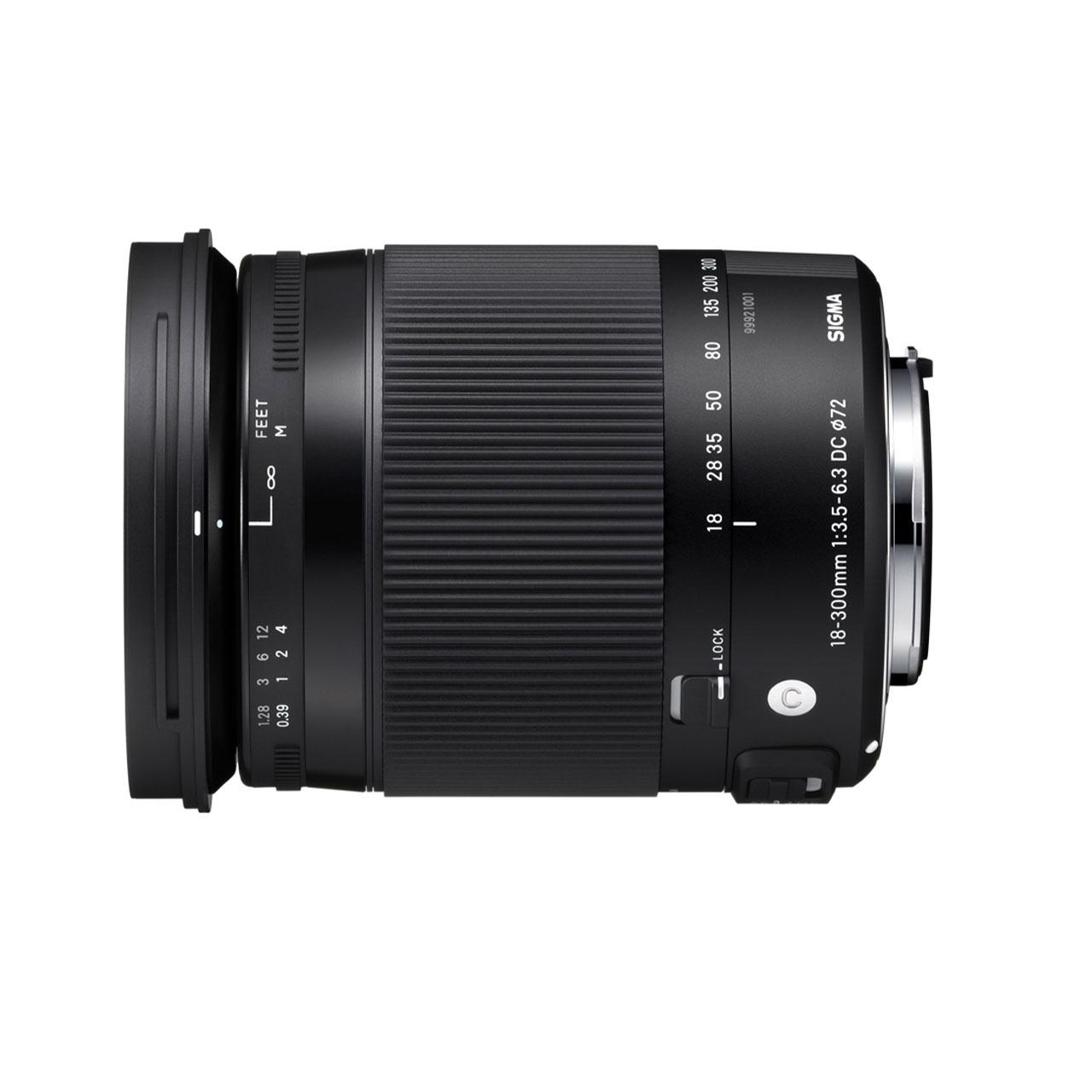 Sigma Nikon Objetivo 18-300mm f/3.5-6.3 DC OS Macro HSM Contemporary