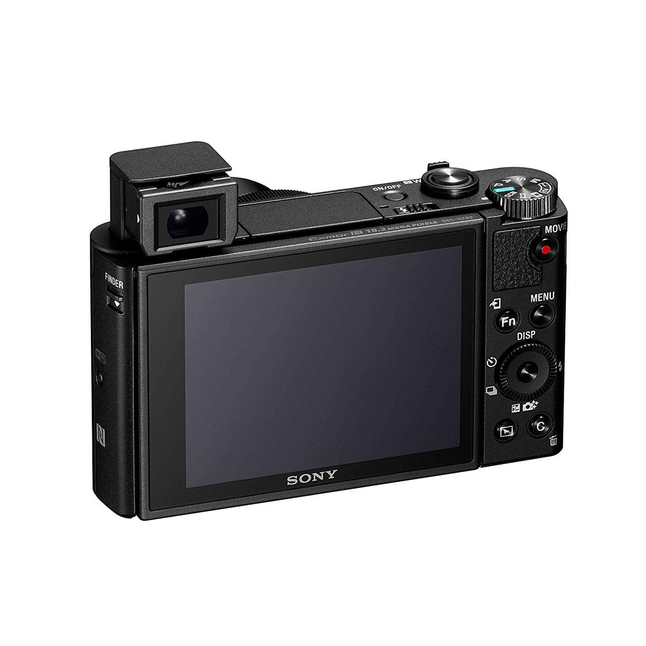 Sony Cámara Compacta DSC-HX99 Negra + Objetivo Zeiss 24-720 mm