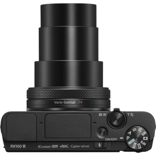 Cámara Compacta Sony DSC-RX100 M6 Negra | DSCRX100M6.CE3