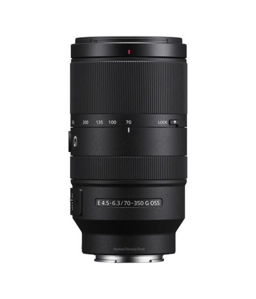Objetivo Sony f/E 70-350mm f/4.5-6.3 G OSS | SEL70350G.SYX