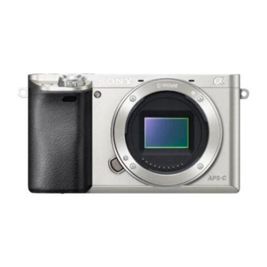 Camara Evil - Sony Alpha ILCE-6000S Plata Cuerpo   ILCE6000S.CEC