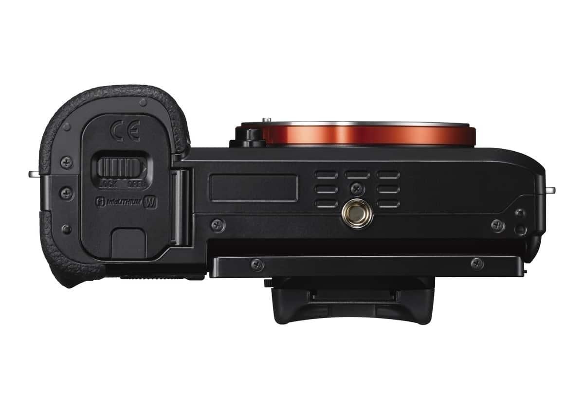 Sony Cámara Evil Alpha 7 ILCE-7S Cuerpo Negra montura t. E