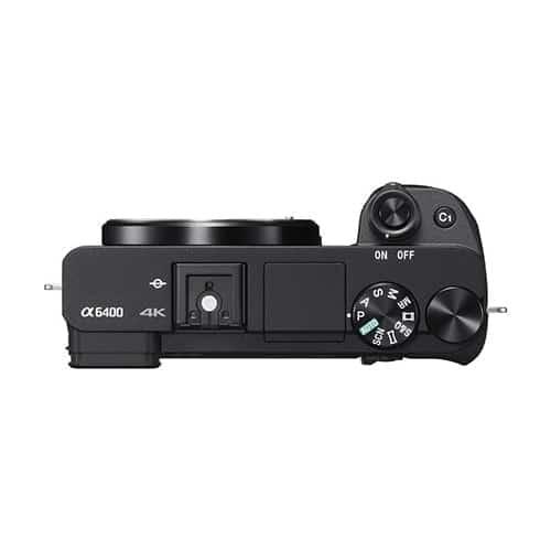 Cámara Evil Sony Alpha ILCE-6400B Cuerpo + Bolsa LCSX10 | ILCE6400B.CEC