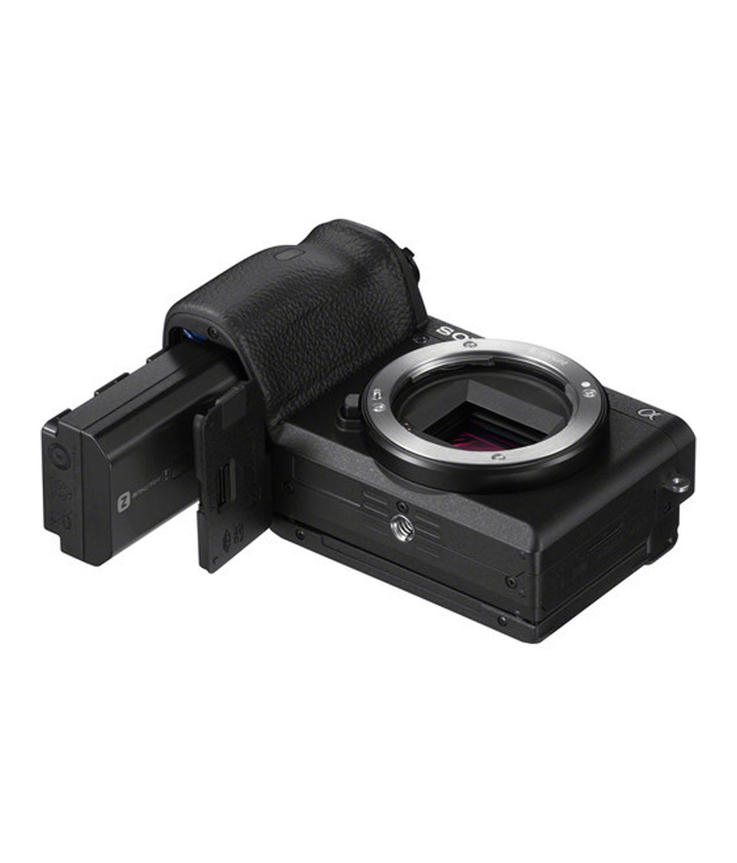 Sony Cámara Evil Alpha ILCE-6600B Cuerpo Negra