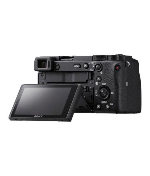 Cámara Evil Sony Alpha ILCE-6600MB Negra Objetivo 18-135mm OSS + Bolsa LCSX10 | ILCE6600MB.CEC