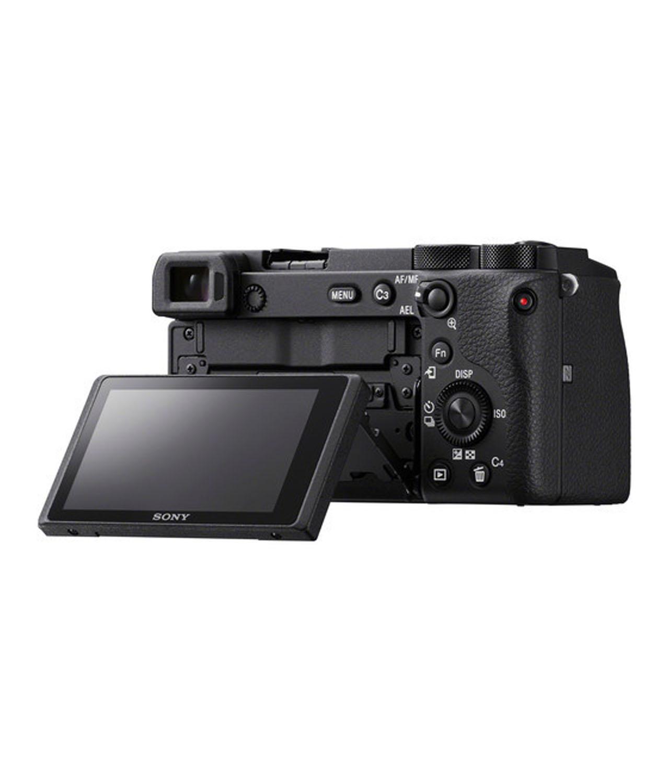 Sony Cámara Evil Alpha ILCE-6600MB Negra Objetivo 18-135mm OSS + Bolsa LCSX10