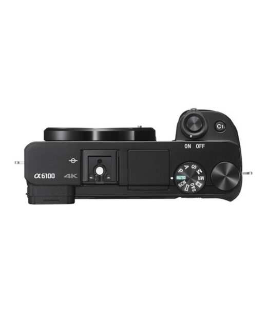 Cámara Evil Sony Alpha ILCE-6100B Cuerpo Negra + Bolsa LCSX10 | ILCE6100B.CEC