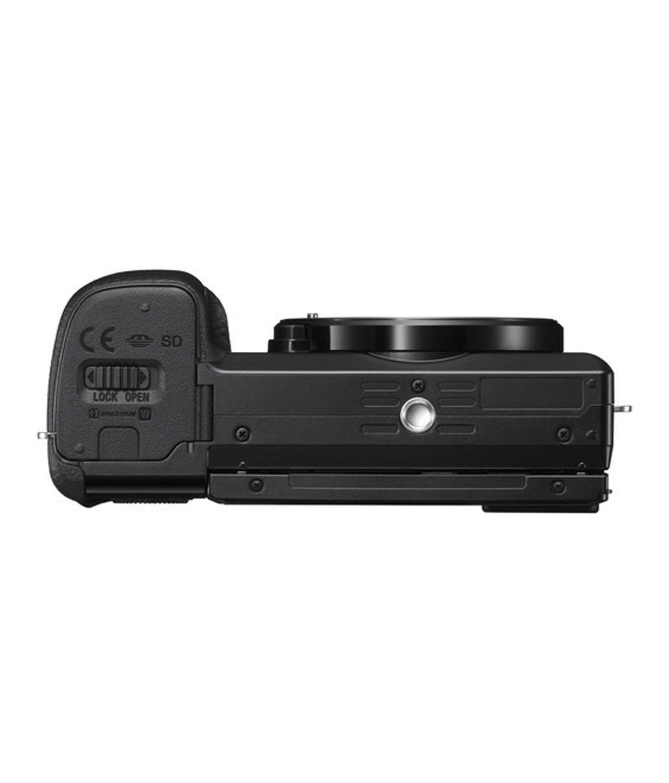 Sony Cámara Evil Alpha ILCE-6100B Cuerpo Negra + Bolsa LCSX10