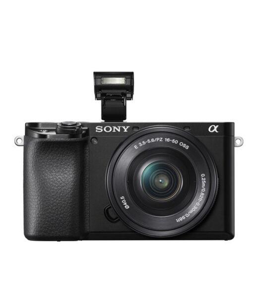 Camara Evil - Sony Alpha ILCE-6100LB Negra Obj. 16-50mm F3.5-5.6 OSS | ILCE6100LB.CEC