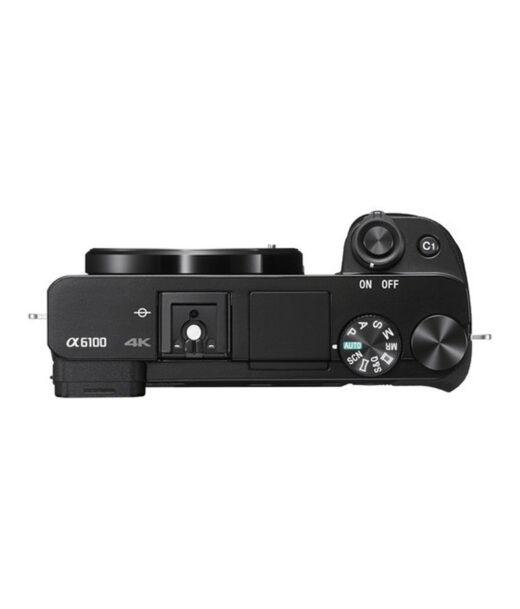 Cámara Evil Sony Alpha ILCE-6100LB Negra + 16-50mm F3.5-5.6 OSS + Bolsa LCSX10   ILCE6100LB.CEC