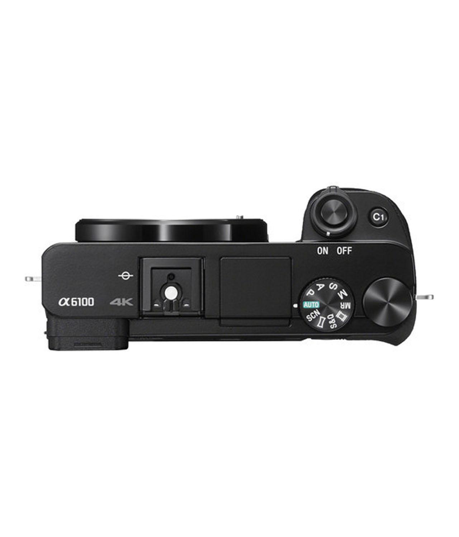 Sony Cámara Evil Alpha ILCE-6100LB Negra + 16-50mm F3.5-5.6 OSS + Bolsa LCSX10