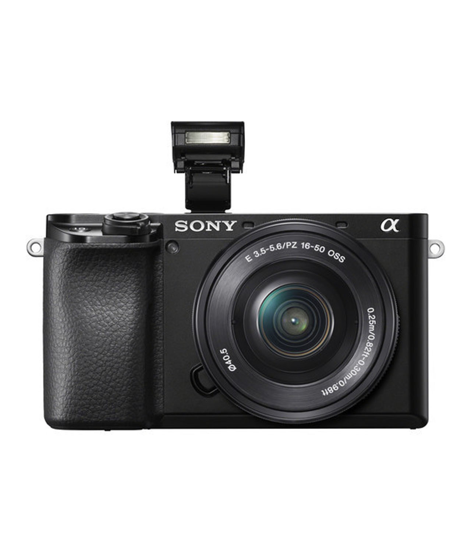 Sony Cámara Evil Alpha ILCE-6100YB Negra + 16-50 +55-210mm OSS + Bolsa LCSX10
