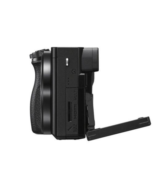 Cámara Evil Sony Alpha ILCE-6100YB Negra + 16-50 +55-210mm OSS + Bolsa LCSX10 | ILCE6100YB.CEC