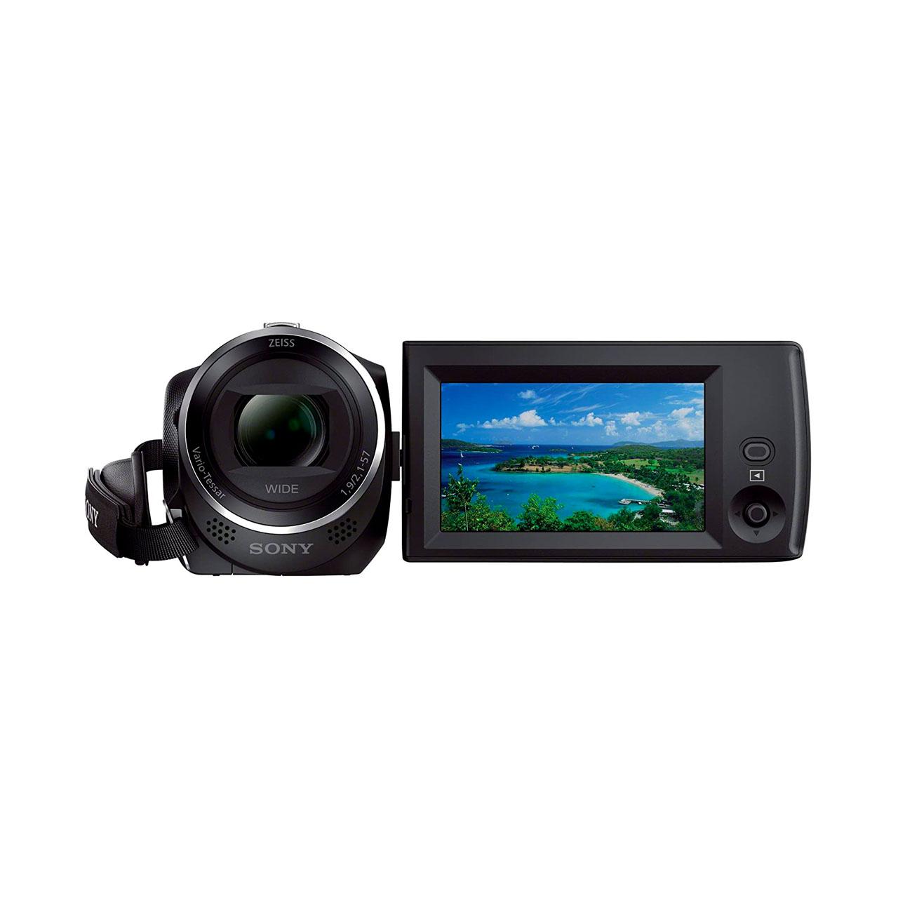Sony Cámara Video Handycam Flash HDR-CX240EB Negra