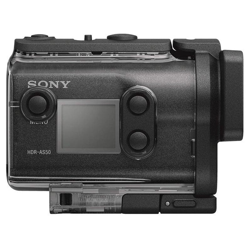 Sony Cámara Video Aventura HDR-AS50 Action Cam Negra