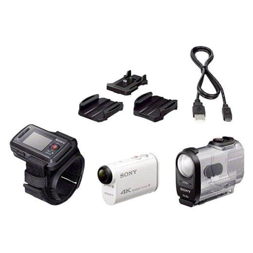 Cámara Video Aventura Sony FDR-X1000V Action Cam Blanca | FDRX1000VR.CEN