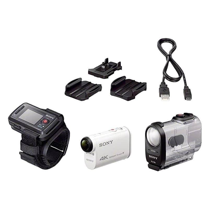 Sony Cámara Video Aventura FDR-X1000V Action Cam Blanca