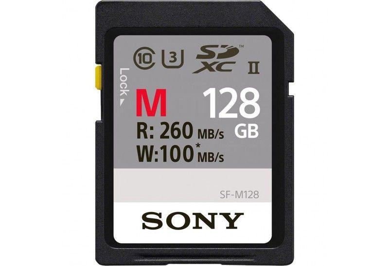 Sony Tarjeta Memoria SDXC 128Gb Sony Prof. UHS-II R260 W100 C10