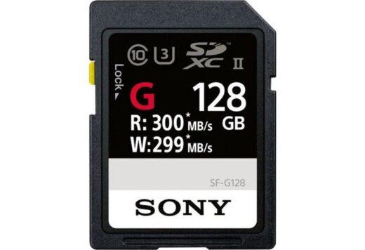 Tarjeta Memoria SDXC 128Gb Sony Prof. UHS-II R300 W299 C10 | SFG1G