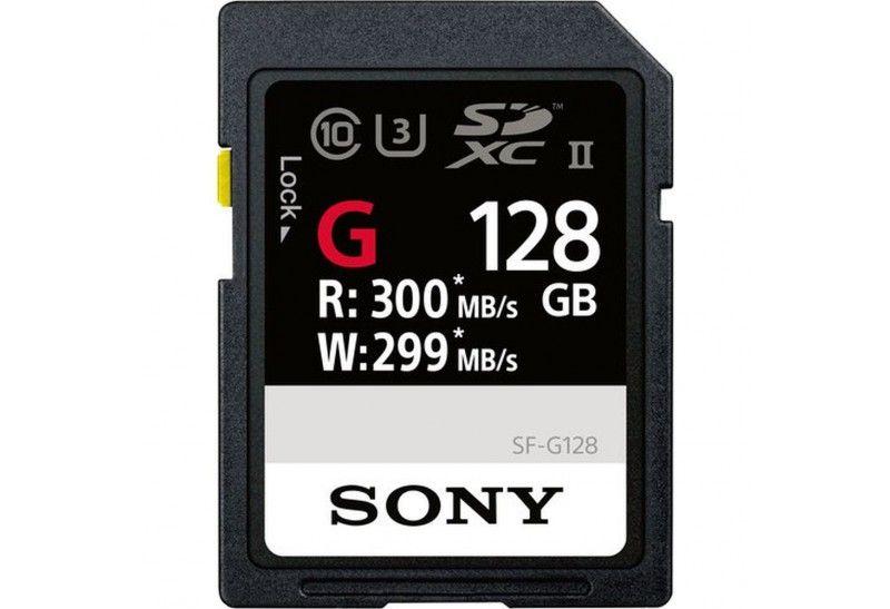 Sony Tarjeta Memoria SDXC 128Gb Sony Prof. UHS-II R300 W299 C10
