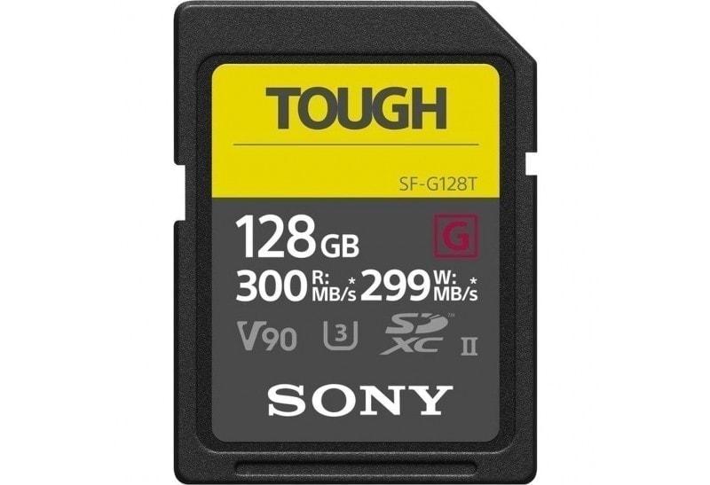 Sony Tarjeta Memoria SDXC 128Gb Sony Tough Prof. UHS-II R300 W299 V90 C10
